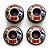 Roda Moska Trick 53D Preta - 55mm  - Imagem 2