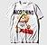 Camiseta Masculina - MO$CHINO WHT  - Imagem 3