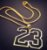 Corrente GOLD JORDAN - BULLS 23 - Imagem 2