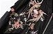 Jaqueta Feminina - Black Floral - Imagem 4