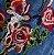 Camiseta Jeans Feminina Floral - Imagem 3
