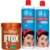 iLike Kit Btox Capilar 1Kg + Escova Progressiva 2x 1 Litro - Imagem 1