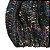 Touca de Lã Azul Mesclada Color com pompom - Imagem 3