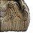 Touca de Lã Cáqui com pompom - Imagem 2
