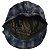 Boina Chapéu Azul e Preta tipo xadrez - Imagem 3