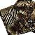 Echarpe estampa Onça preto/marrom (0,76 x 1,87) - Imagem 4