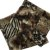 Echarpe estampa Onça preto/marrom (0,76 x 1,87) - Imagem 1