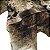 Echarpe estampa Onça preto/marrom (0,76 x 1,87) - Imagem 2