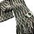 Cachecol lã cinza e branco com franja (0,20 x 2,00) - Imagem 4