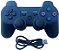 Controle Ps3 Joystick Sem Fio Bluetooth Dualshock 3 + Cabo Usb para videogame playstation3 - Imagem 6