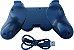 Controle Ps3 Joystick Sem Fio Bluetooth Dualshock 3 + Cabo Usb para videogame playstation3 - Imagem 9