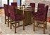 Conjunto Mesa de jantar com tampo de Vidro e 6 Cadeiras - HB123c - Imagem 2