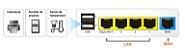 Draytek Vigor 2133 - Dual Link, Load Balance, WAN 500 MBPS,  30 Hosts, VPN 2 VPN,  Gigabit LAN, VLans, Firewall, Filtro de Conteúdo | Clique em Consulte o Preço ou no WhatsApp - Imagem 2