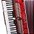 Acordeon Eagle EGA 07120 PRD 120 Baixos Vermelho Pearl Red - Imagem 5
