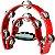 Pandeiro Meia Lua Premium TB-10 Vermelho - Imagem 1