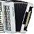 Acordeon Cadenza CD80/37 / 80 Baixos / Branco / Acompanha case - Imagem 3