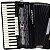 Acordeon Cadenza CD80/37 / 80 Baixos / Preto / Acompanha case - Imagem 2