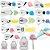 Kit para Decoração com 16 Peças Bicos em Aço Inox sem Emendas Wilton - Imagem 2