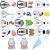 Kit Para Confeitar 12 Bicos Sem Emendas Em Aço Inox Wilton - Imagem 2