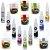 Kit Confeitaria Corante Alimenticio Gel Mago E Pó Fab - Imagem 2