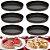 Kit Com 6 Formas Crespas Antiaderente Torta De Maça Doces - Imagem 3