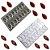 Kit 2 Formas Moldes Chocolate Doces Bombons Cacau Gota - Imagem 2