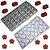Kit 2 Formas Molde Confeitaria Chocolate Doce Bombom Flor - Imagem 2