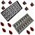 Kit 2 Forma Molde Confeitaria Chocolate Piramide Bombom Gota - Imagem 2