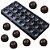 Forma Molde Bola Futebol Confeitaria Fina Bombons Chocolate - Imagem 1