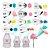 Kit 16 Peças Para Boleira e Confeiteiros Profissionais Bicos em Aço Inox Sem Emendas Wilton - Imagem 1
