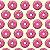 """Papel de Parede Adesivo """"Cream Donuts"""" - Imagem 1"""