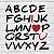 """Placa Decorativa """"Alfabeto"""" - Imagem 2"""