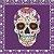 """Placa Decorativa """"Skull Love"""" - Imagem 2"""
