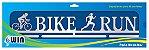 Porta Medalhas Duatlo Feminino - Bike Run - Imagem 3