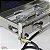 Fogão industrial inox 2 bocas fogareiro alta pressão chapeiro para lanche e frituras camping - Imagem 6