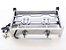 Fogão industrial inox 2 bocas fogareiro alta pressão chapeiro para lanche e frituras camping - Imagem 5