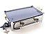 Fogão industrial inox 2 bocas fogareiro alta pressão chapeiro para lanche e frituras camping - Imagem 1