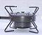 fogareiro queimador Portátil de 1 boca 10 caolins kit gás com super chama regulável - Imagem 5