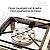 Fogão inox industrial de 1 boca com pés desmontável e kit gás completo - Imagem 3