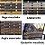 Fita de junco sintético de 10 mm rolo com 500 metros cor Chocolate - Imagem 8