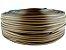 Fita de junco sintético de 10 mm rolo com 500 metros cor Mel - Imagem 1