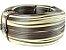 Fita meia cana 5mm de junco Vime  Rattan sintético para cadeiras e artesanato 500 metros Caramelo - Imagem 1