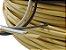 Fita meia cana 5mm de junco Vime  Rattan sintético para cadeiras e artesanato 500 metros Argila Mesclado - Imagem 3