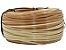 Fita meia cana 5mm de junco Vime  Rattan sintético para cadeiras e artesanato 500 metros Cerâmica - Imagem 1
