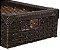 Fita meia cana 5mm de junco Vime  Rattan sintético para cadeiras e artesanato 500 metros Chocolate - Imagem 7