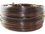 Fita meia cana 5mm de junco Vime  Rattan sintético para cadeiras e artesanato 500 metros Argila Mesclado - Imagem 1