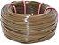 Fita meia cana 5mm de junco Vime  Rattan sintético para cadeiras e artesanato 500 metros Castanho - Imagem 1