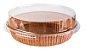 Formas p/ Torta Tam. 160x30- M - COM TAMPA – Pie – 10UN - R$ 3,25 Unitário - Imagem 1