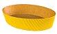 Forma Colomba - Oval 500 gr. - Amarelo - 10UN - R$ 1,58 Unitário - Imagem 1