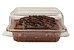 Forma forneável para Torta/Brownie Tam. P COM TAMPA– 30UN - R$ 0,88 Unitário - Imagem 1